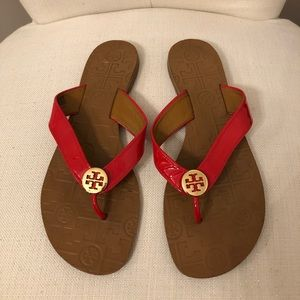 Tory Burch Thora Red Sandals
